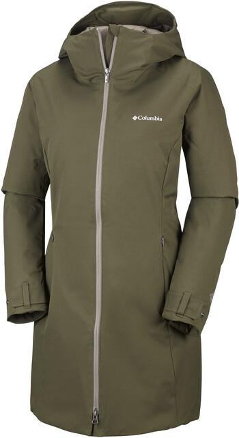 Columbia Autumn Rise Mid Jacket, naisten talvitakki